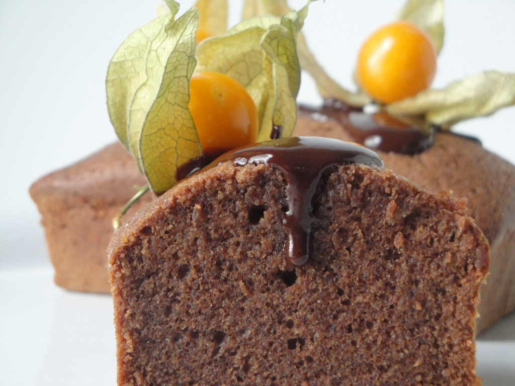 Chocolate Cake – Chocolate Financier Cake