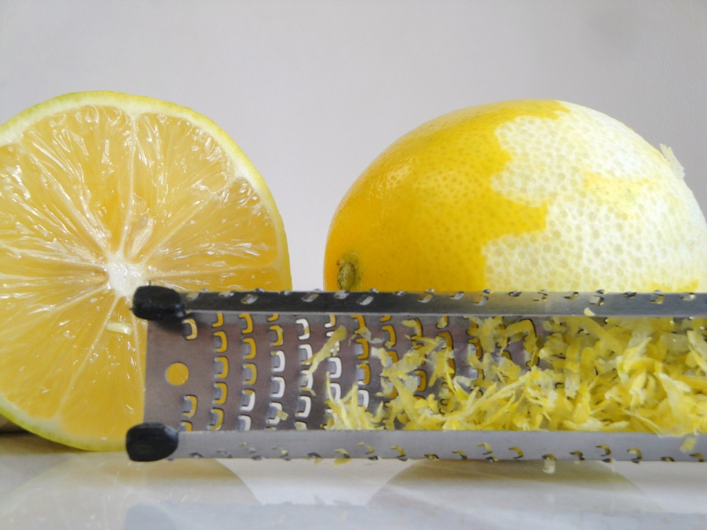 how to zest lemons