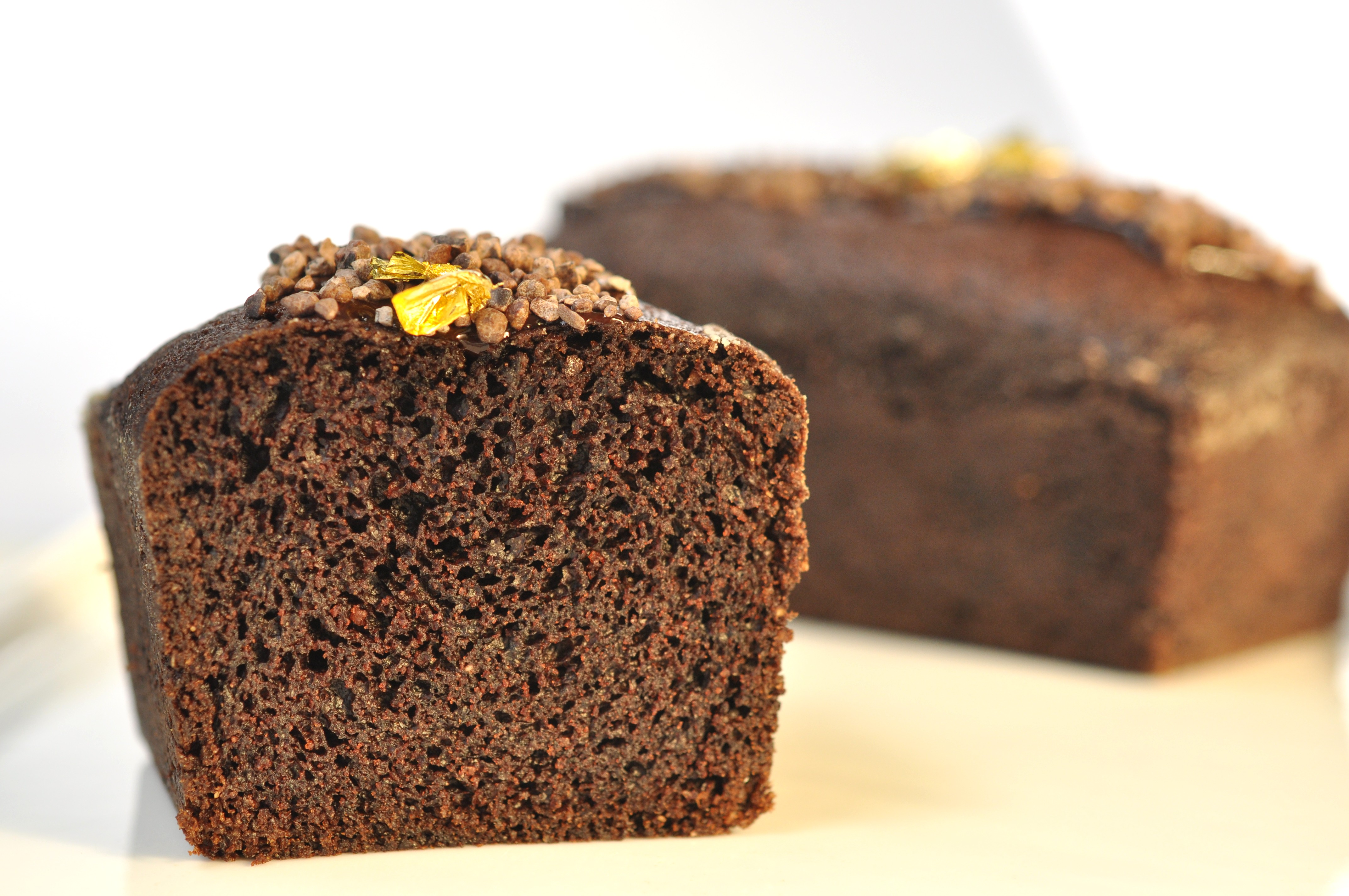 Egg free chocolate pound cake| Pastry Chef- Author Eddy Van Damme