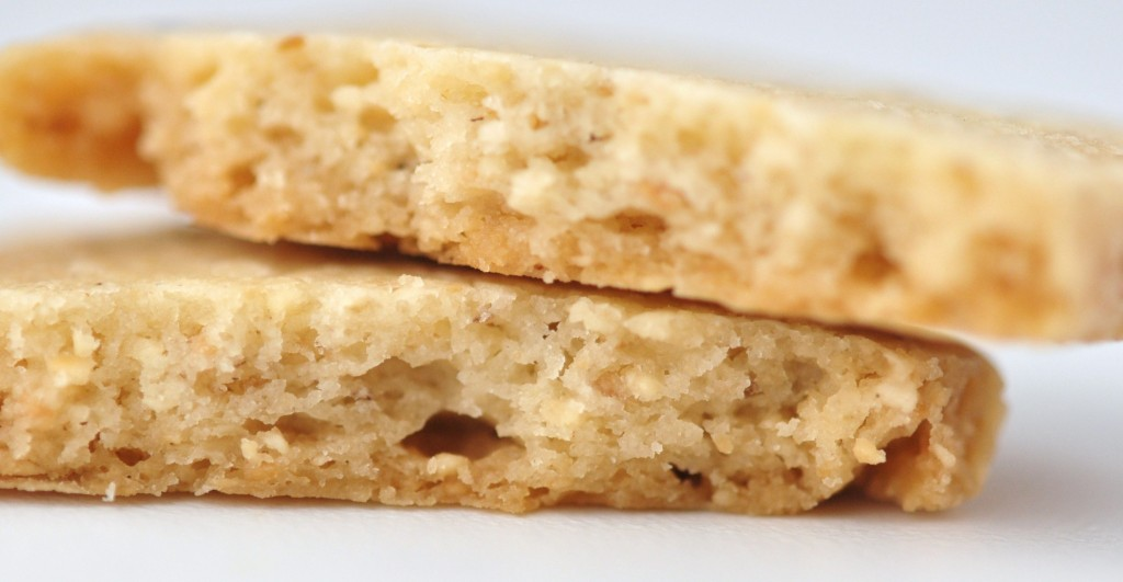 Hazelnut shortbread | By Pastry Chef-Author Eddy Van Damme