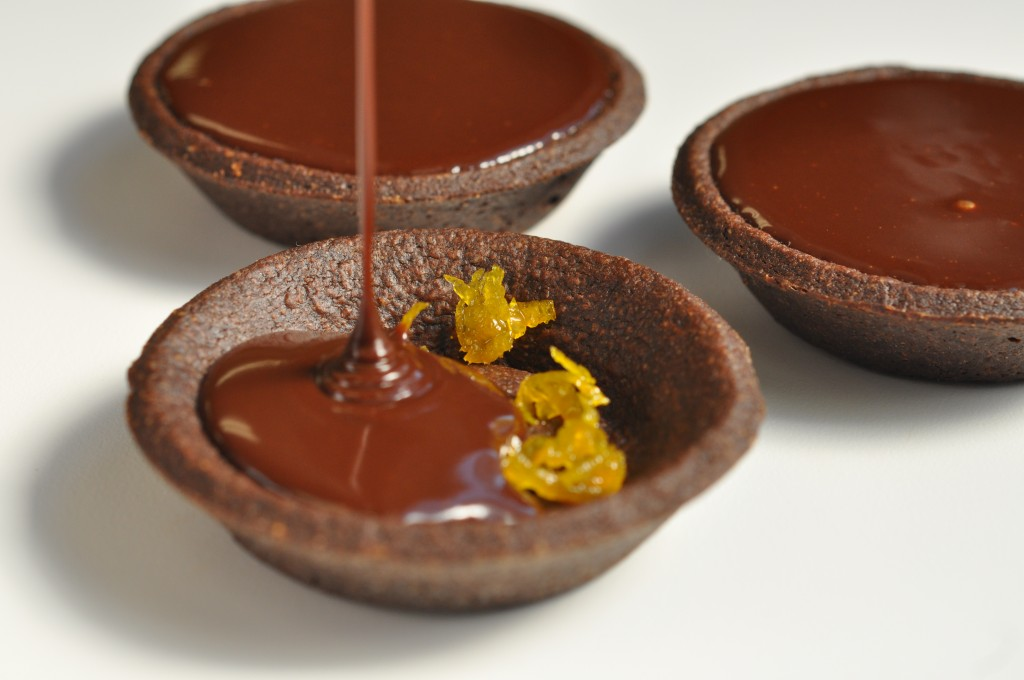 Orange Chocolate Tart | Pastry Chef – Author Eddy Van Damme